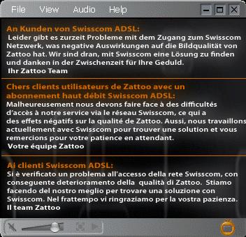 Zattoo contro Swisscom ?