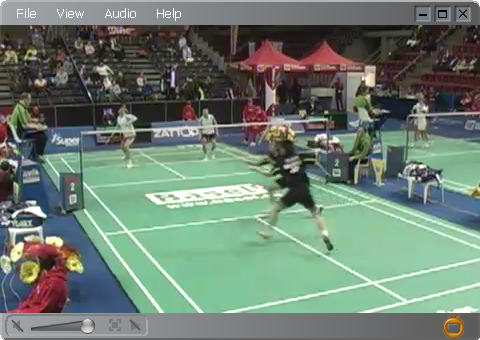 Zattoo: Badminton Swiss Open live