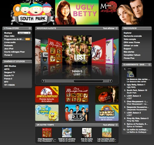 iTunes - TV Shows - France