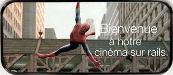 Le cinéma sur les rails