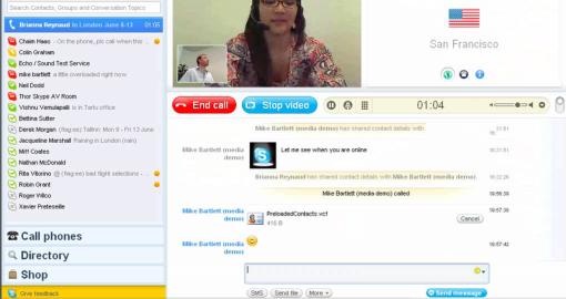 Skype 4.0 beta 1