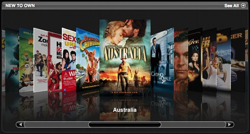iTunes Movies Store