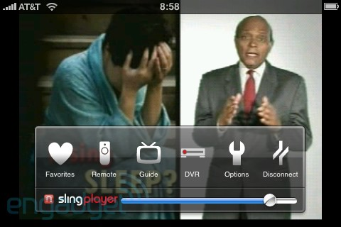 SlingPlayer for iPhone