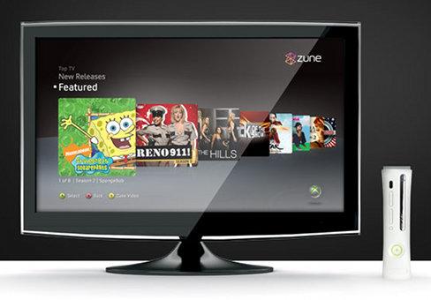 Zune on Xbox