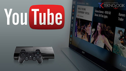 YouTube sur PS3